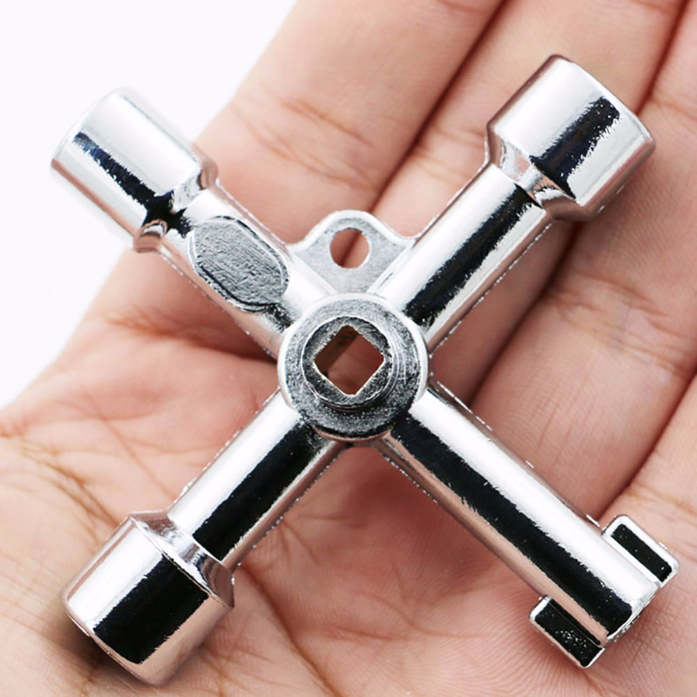 5 In 1 Universal Cross Square Triangle Train Electrical Cabinet Elevator Key  X