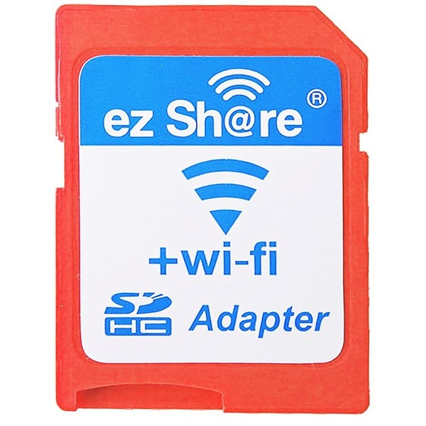 Wireless ez Share Memory Card Reader Adapter Flash WiFi LAN For Micro SD SDHC TF