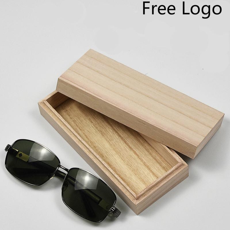 Unisex Handmade Glasses Box Natural Wood Retro Bamboo Sunglasses Protection Case