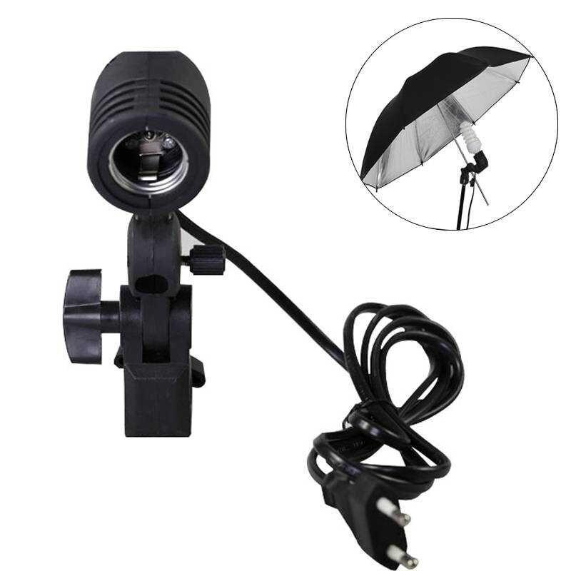 Swivel Umbrella with 1 Screw for lamp or Flash E27
