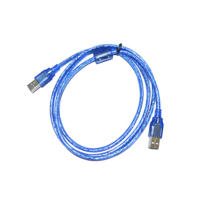 Cable Length: 5PCS, Color: Blue Computer Cables 3 m USB2.0 Print line Transparent Blue Printer Cable Data Cable