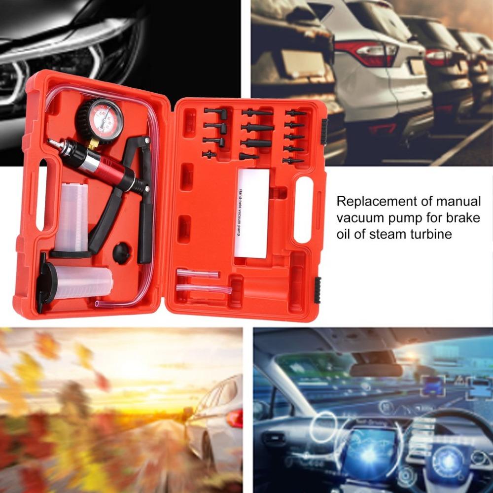 Auto Automotive Car Vehicle Brake Bleeder and Vacuum Pump Tester Test Kit