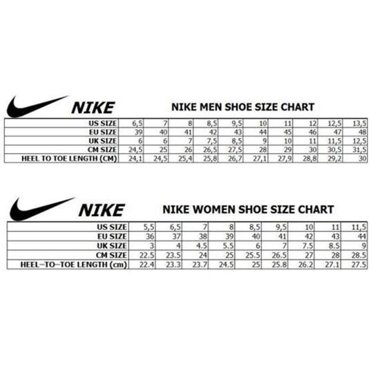 women's jordan size to men's